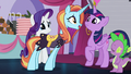 Sassy looks at Twilight up close S5E14.png