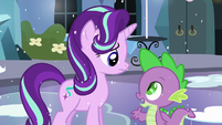 Spike --Well, Twilight obviously thinks you're worth being friends with!-- S6E2