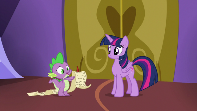 File:Spike going over the schedule checklist S7E3.png