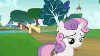 Sweetie Belle looking discouraged yet again S7E6