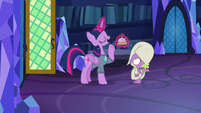 "Twilight answers ""going to bed!"" S9E16"