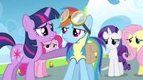Twilight sorry Rainbow Dash S3E7