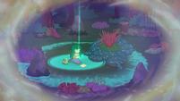 Wallflower Blush surrounded by magic EGFF