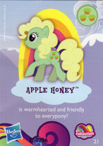 Wave 9 Apple Honey collector card