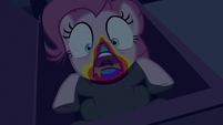 Zombie Pinkie appears from the cupboard S6E15