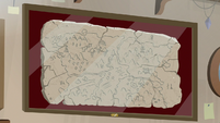 Ancient map of Equestria by the Mighty Helm S7E24