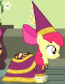 Apple Bloom school play costume ID S4E19