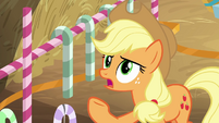 "Applejack ""we gallop backwards"" BGES2"