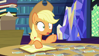 Applejack --she looked in the kitchen-- S6E21