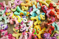 Assorted molded pony toys.jpg