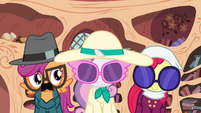 Cutie Mark Crusaders in disguise S4E15
