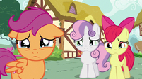 Cutie Mark Crusaders with teary eyes S6E19