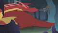 Dragon sneezes in Rainbow's face S1E07.png