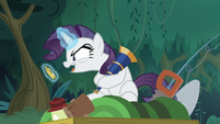 Fake Rarity claims the compass as hers S8E13