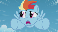 Filly Rainbow Dash unsure of herself S5E25