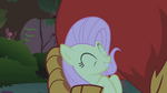 Fluttershy in the manticore's grip S1E02