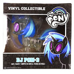 Funko DJ Pon-3 glitter figurine packaging