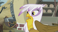Gilda pondering on Pinkie's words S5E8