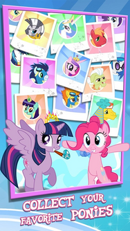 MLP mobile game Collect your favorite ponies
