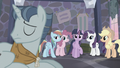 Main ponies look at Party Favor S5E02.png