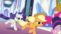 Mane Six charging into battle S9E1