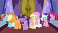 Mane Six sighing with defeat S7E14.png