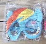 McDonald's Rainbow Dash mask