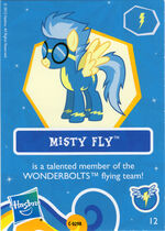 Misty Fly collector card