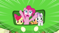 Pinkie Pie 'Veggie salad!' S3E4