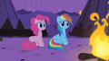 Pinkie Pie and Dash listening to Spike S1E21.png