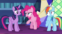 "Pinkie Pie butts in ""first of all"" EG2"