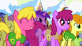 Ponies inspired by Mayor Mare's speech S1E11.png