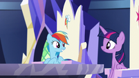 """Rainbow """"you said you needed our help with something"""" S5E19"""