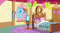Rainbow Dash --you better stay here and rest-- S6E15