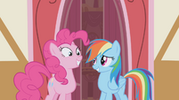 Rainbow Dash --you wanna hang out--- S1E05