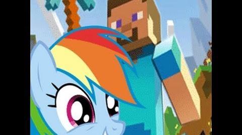 Rainbow Dash Plays Minecraft