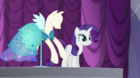 "Rarity ""and are ready to be presented!"" S5E14"