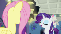 "Rarity ""oh, darling, come now"" S8E4"