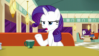 Rarity --Foals today listen to their...-- S6E9