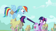 S03E12 Rainbow pośpiesza Twilight
