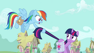 S03E12 Rainbow pośpiesza Twilight