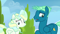 Sky and Vapor awkward around each other S6E24.png