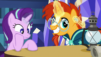 Sunburst takes the antique teaspoon from Starlight S7E24