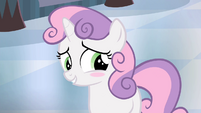Sweetie Belle blushing S4E19