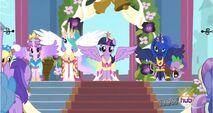 The 4 Princesses of Equestria