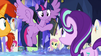 "Twilight ""Star Swirl wrote the spell you used"" S7E25"