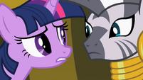 Twilight Sparkle and Zecora S02E10