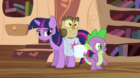 Twilight is doubtful about Spike S03E11