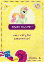 Wave 5 Golden Delicious collector card