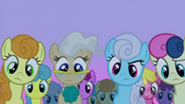 201px-S2E03 The ponies come to look at Smarty Pants